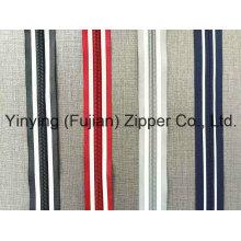 5 # Ruban réfléchissant Nylon Zipper Long Chain