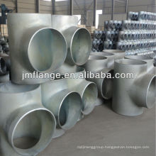 carbon steel Galvanized Pipe Fitting Tee Equal WITH BEADED zinc hot-dip