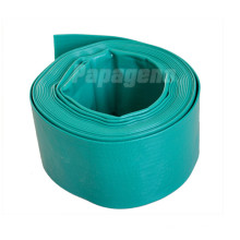 Green Agricultural Irrigation Water Lay Flat Pipe