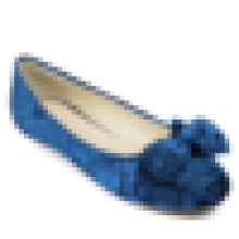 Velvet fabric flats square toe women's shoe good quality ballerina shoe