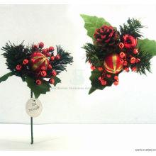 Plastic Decorative Fancy Christmas ornament kits Christmas picks