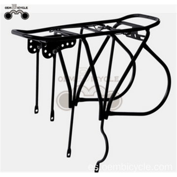 high quality steel Black Bicycle Luggage Carrier/Bike Rear Rack