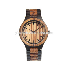 China manufacture Factory wholesale wood watch ebony and sandal