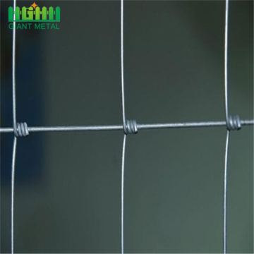 Galvanized veldspan wire sheep fixed knot field fencing
