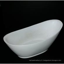 Baignoire autoportante ovale de baignoire de piédestal