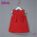 72123 Baby Girl's Red Dress Kaninchen Rock