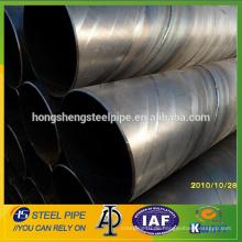 Spiral geschweißte Stahlrohr mit großem Durchmesser / ssaw Stahlrohr mit Wasser Test China Preis