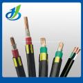 Cable eléctrico de potencia ignífuga 0.6 / 1KV Cu / XLPE / PVC, cable de alimentación IEC