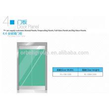 Панель дверных панелей дверцы кабины лифта / дверная панель кабины, нержавеющая или стеклянная панель