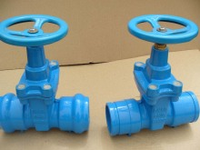 Socket End Resilient Seated Gate Valve Pn16