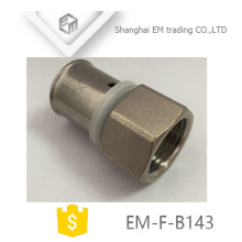 EM-F-B143 brass pipe fitting connector pex al pex hexagon joint