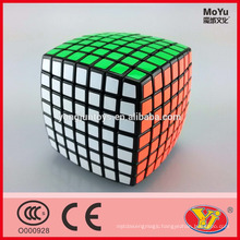 2015 Hot saling Moyu Aofu 7 layers Magic Speed Cube Educational Toys English Packing for Promotion