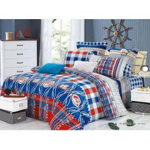 Hochwertige 40s 205T reaktive gedruckte 2014 neue Bettwäsche 100% Baumwolle Luxus Bettwäsche gesetzt