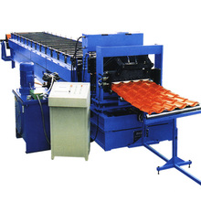 Telha de alumínio Step Tile Roll Froming Machine
