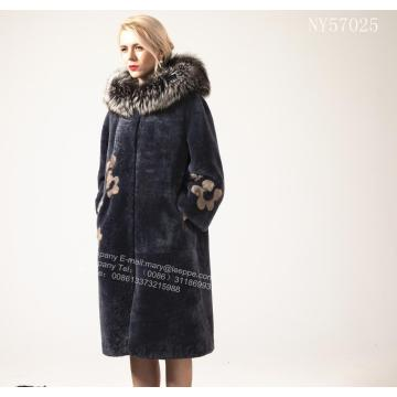Lady Australia Merino Shearling Long Coat