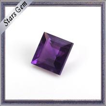 Глубокий Фиолетовый Бриллиант Огранки Натуральный Аметист Gemstone Бисера