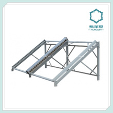 Sección de aluminio para techo montado en paneles solares