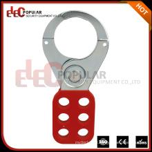 Elecpopular itens baratos para vender segurança 6 orifícios de cadeado Aço Hasp Lock Segurança Armário Hasp
