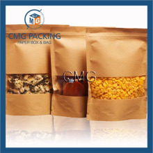 Self Seal Kraft Paper Bag Nut Fruit Packaging Bag