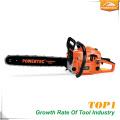 Prix de la découpeuse de l'arbre à essence Powertec 45cc 1.7kw Inde