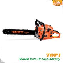 Precio de la máquina de la cortadora del árbol de la gasolina de Powertec 45cc 1.7kw