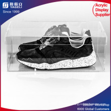 Customized Logo Printing Acrylic Shoes Display Box for Display