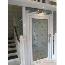 DEAO Elevador sin hogar de la casa de la máquina de la alta calidad con la cabina de madera del acero