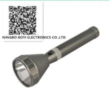 Tocha de alumínio LED de alta luminosidade recarregável