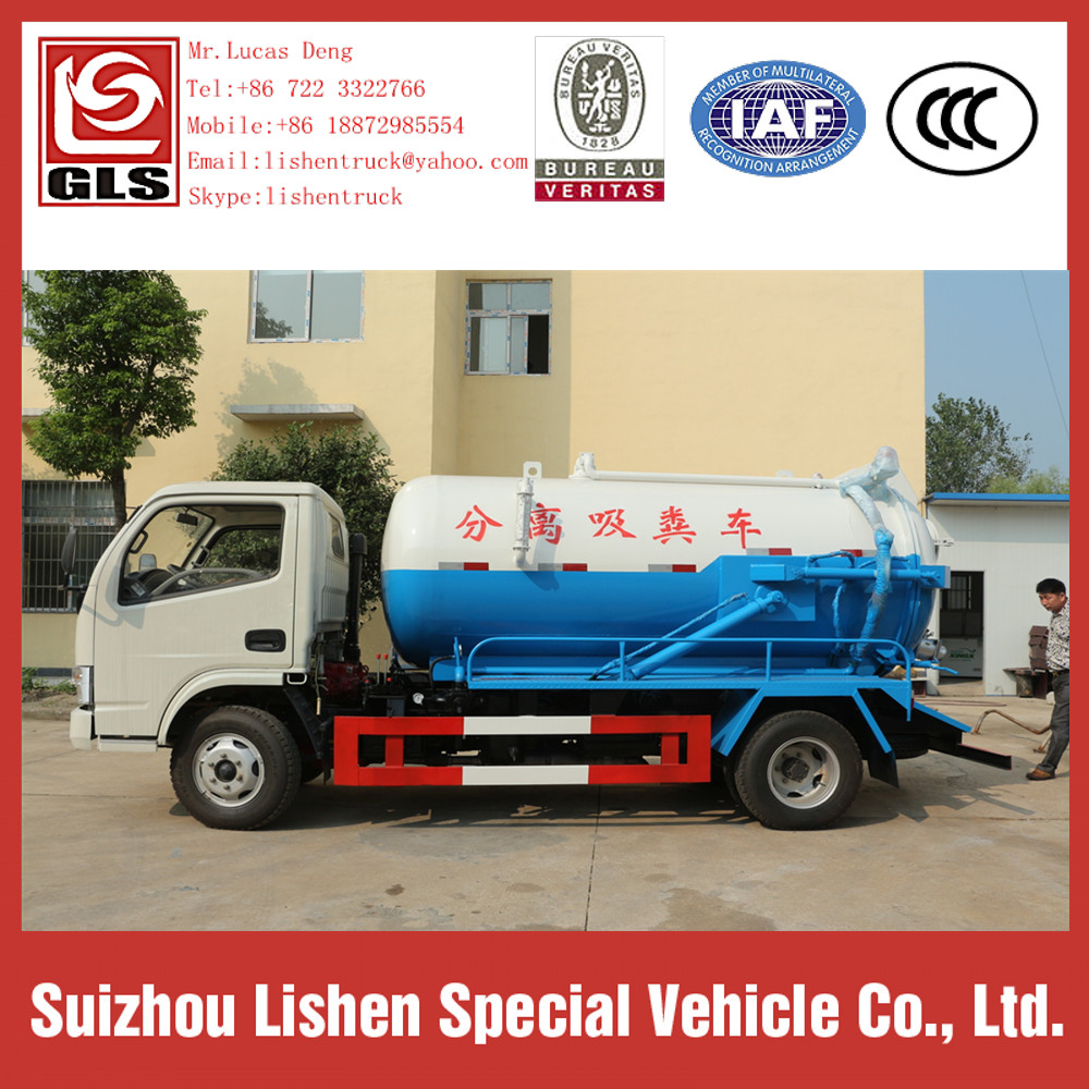 Export Africa Sewage Suction Truck For Sale