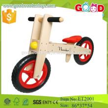 12inch contrachapado material de madera de la bicicleta de equilibrio para niños