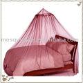 Rede de mosquito circular, mosquiteiro, cama líquida