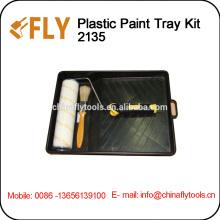 Good Quality Paint Tray Kit roller brush