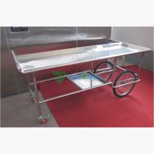 Medizinische Krankenhaus Leichenhalle Raum Corpse Cart