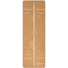 Yugland  Eco-friendly  Cork Wood Yoga Mat with Customized Logo