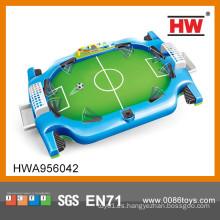 Interesante mano fútbol juego fútbol campeones mini fútbol juego juguete