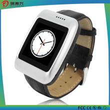 S13 Reloj inteligente Bluetooth con correa de cuero Podómetro Compatible con Ios