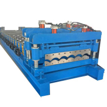 metal glazed roofing tile forming machine