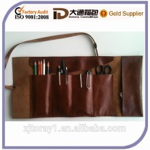 Cheap Rolling Tool Bag Rolling Leather Pencil Case/Bag