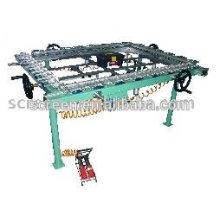 Máquina mecánica de estiramiento de malla