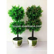 Árbol de hierba artificial / Nuevo producto / 55cm de altura / Dos modelos
