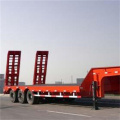 3 Axles 60 tons low bed Semi-trailer