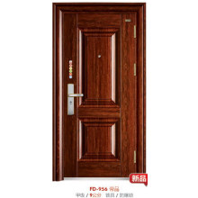 Panel de puerta simple Sunscreen Steel Door