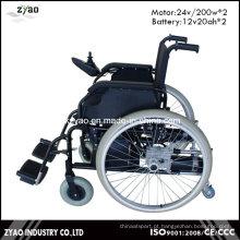 2016 Hot Sale Folding cadeira de rodas elétrica automática