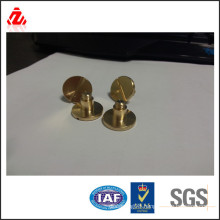 Brass Slotted round head bolt made in China