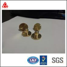 Brass Parafuso de cabeça redonda ranhurada feita na China