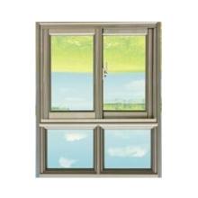 El último diseño de doble acristalamiento ventana de aluminio corredera ventana y puerta de aluminio