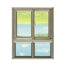 Latest Design Double Glazing Aluminum Sliding Window Aluminium Window and Door