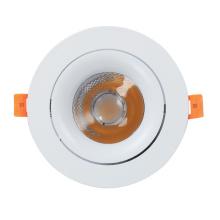 30W COB Утопленный светодиодный светильник круглый свет