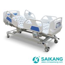 Lit médical d'hôpital de 5 fonctions SK001-10 électrique avec le moteur de Linak