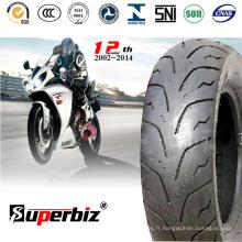 10 pouces pneu de moto en caoutchouc (120/90-10) (130/70-16).